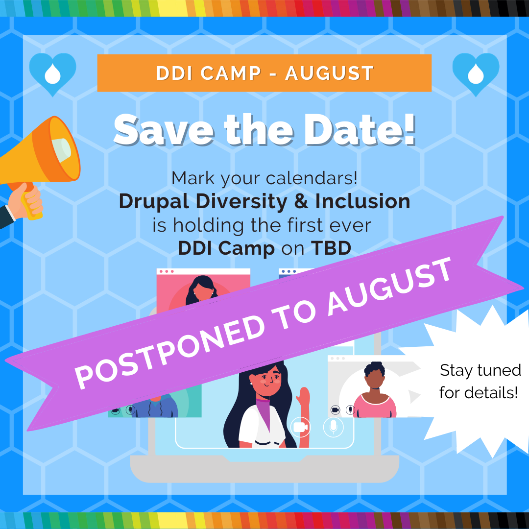 DDI Camp Save The Date Banner